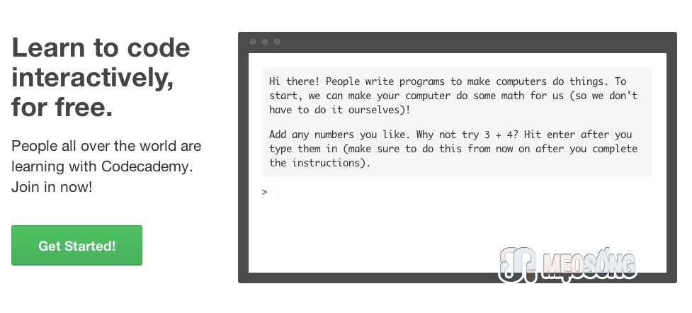 Learn to code interactively, for free.