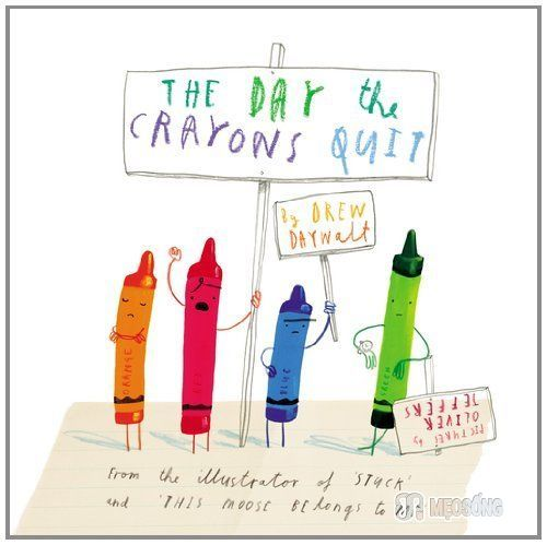 Day Crayons Quit Best Books iPad