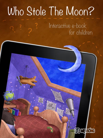 who stole the moon best books ipad