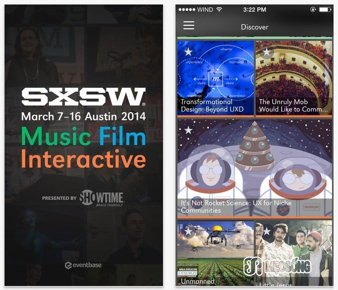 Mobile Guide to South By Southwest
