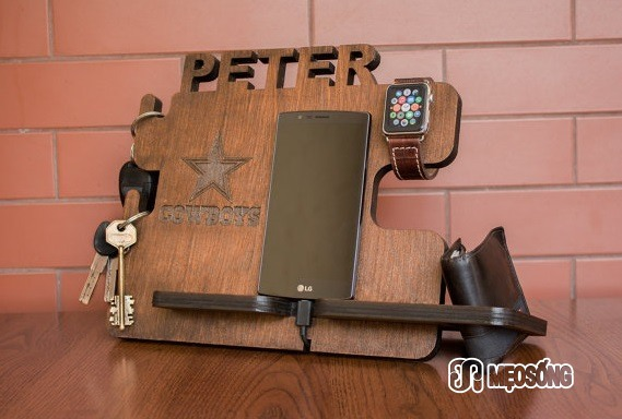 10. Personalized Docking Station