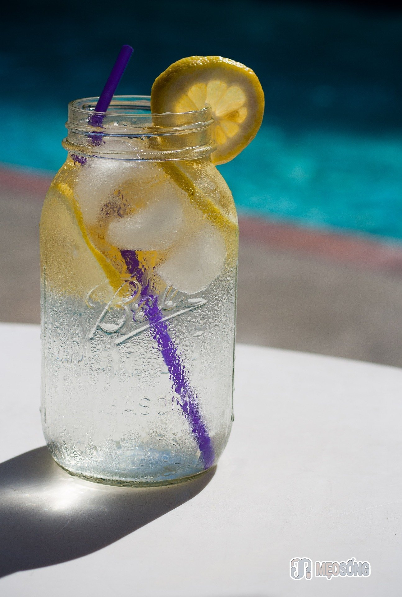 Lemon water - great for detox